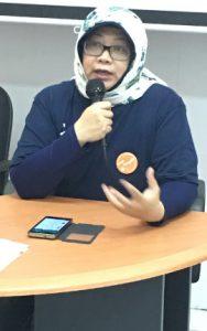 Pembukaan acara oleh Ibu Kanya Puspokusumo, Ketua YMSI